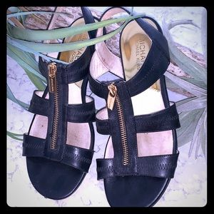 Adorable Michael Kors gladiator sandals.